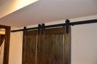 Barn Door Track System - Mikron Woodworking Machinery Inc.