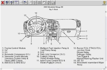 2001 Mitsubishi Eclipse Engine Diagram