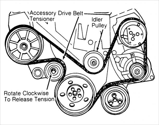 2009 Nissan Maxima Serpentine Belt Diagram