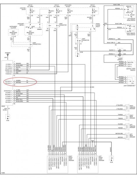 2000 Dodge Ram 1500 Stereo Wiring Diagram