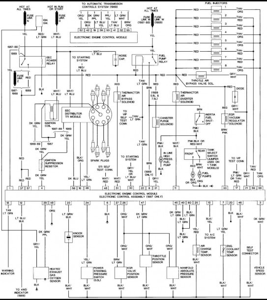 89 Ford F150 Wiring Diagram