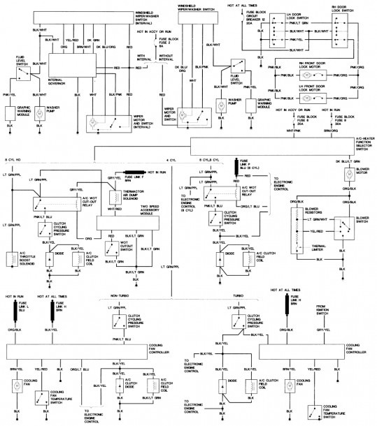 2001 Ford Mustang Fuse Box Diagram