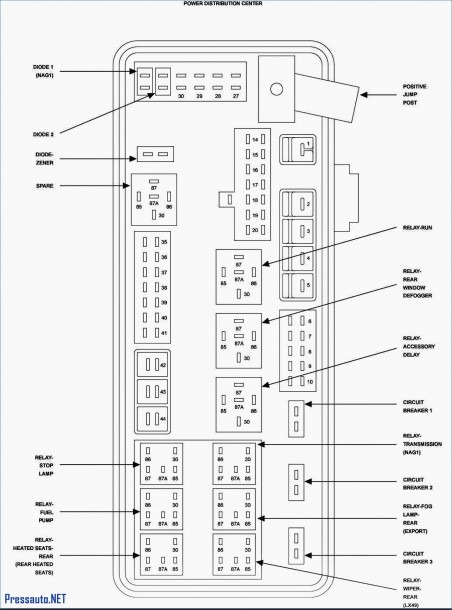 2006 Pt Cruiser Fuse Box Diagram