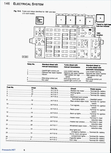 2005 Vw Jetta 2.5 Fuse Diagram