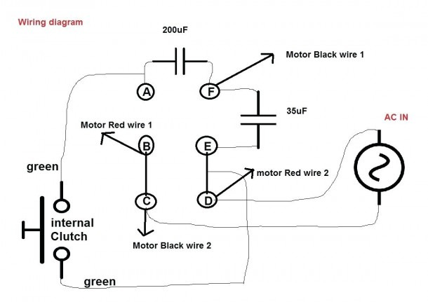 2 Phase Stepper Motor Wiring Diagram