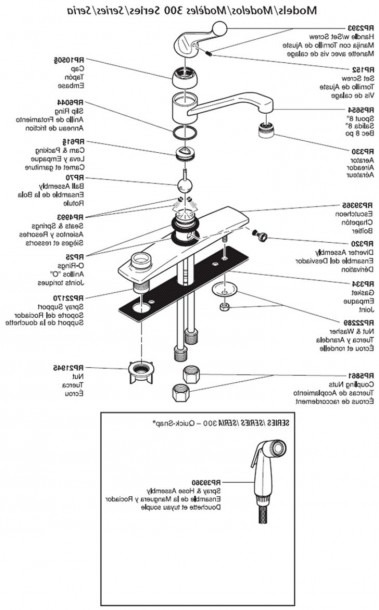 Bathtub Faucet Parts Diagram