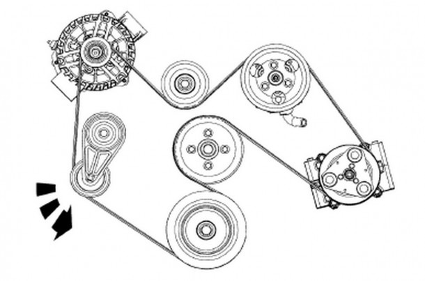 2002 Ford Focus Serpentine Belt Diagram