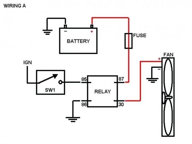 Electric Furnace Fan Relay Wiring Diagram