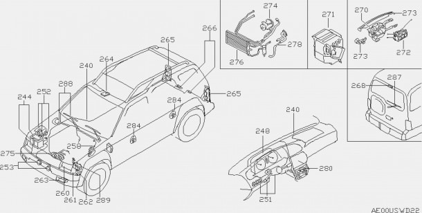 2006 Nissan Altima Exhaust System Diagram