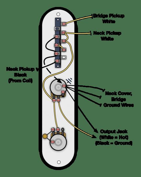 4 Way Telecaster Wiring Diagram