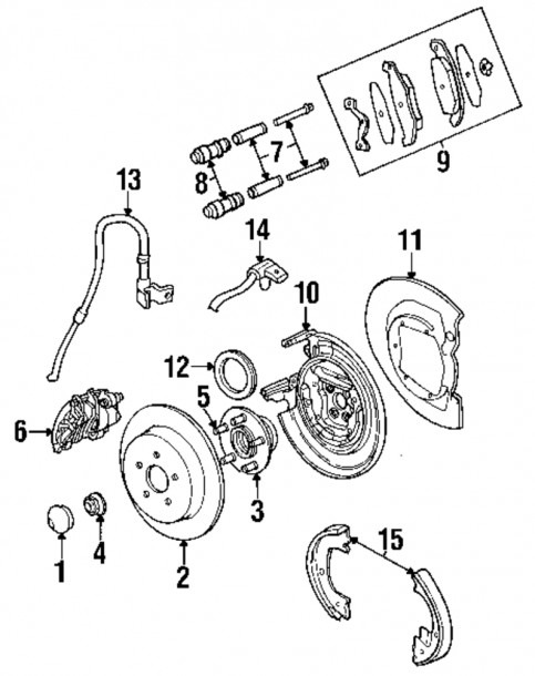 Pt Cruiser Rear Suspension Diagram