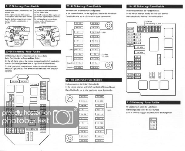 2006 Mercedes S500 Fuse Box Diagram