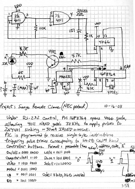 Remote Control Circuit Diagram For Toy Car