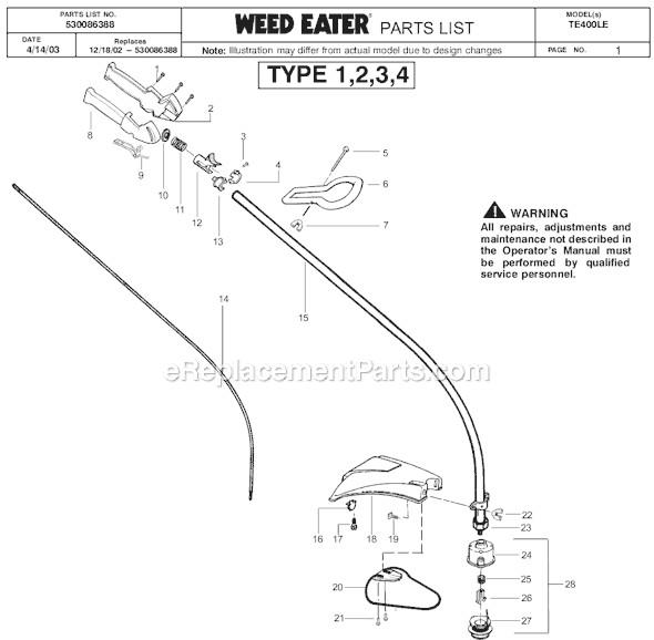 Stihl Fc 75 Edger Parts Diagram
