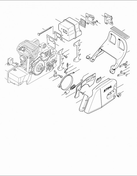 Stihl Bg55 Parts Diagram