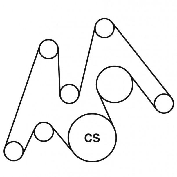 2014 6.7 Cummins Serpentine Belt Diagram