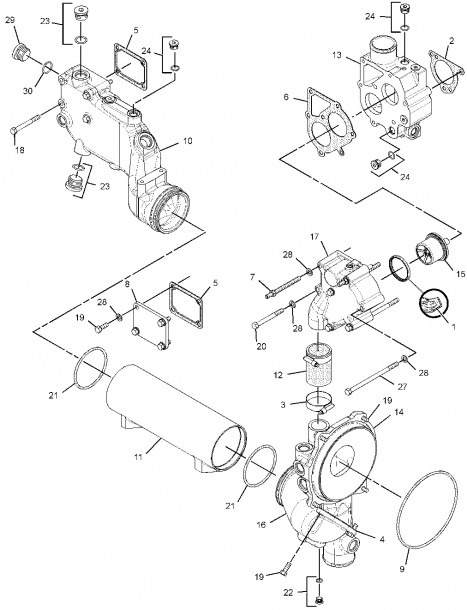 C15 Cat Engine Belt Diagram