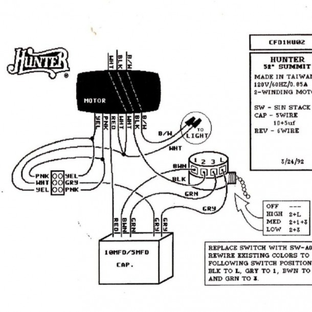 Ceiling Fan With Light Wiring Diagram Two Switches