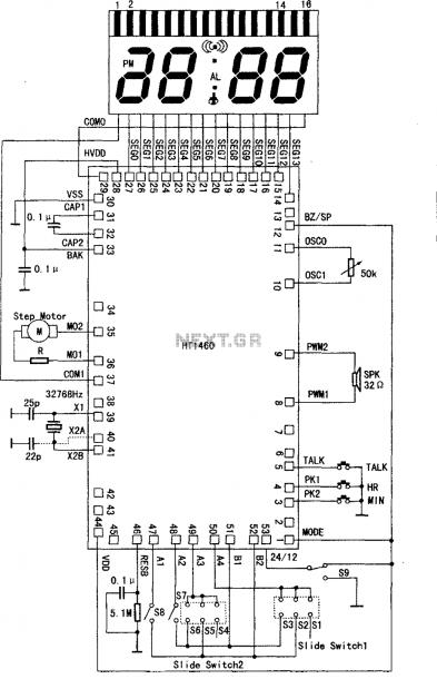 Microprocessor Circuit Diagram