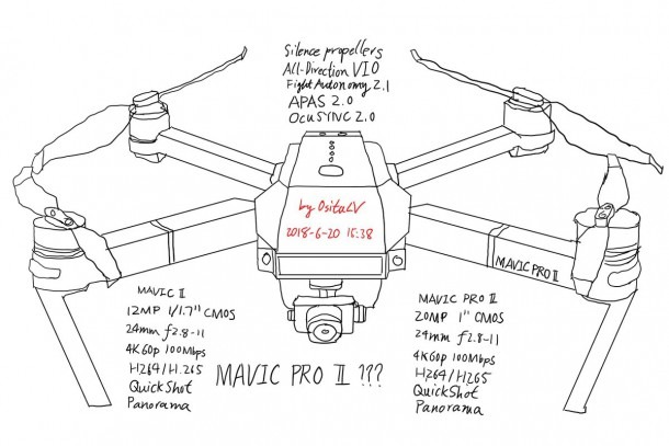 Mavic Pro Parts Diagram