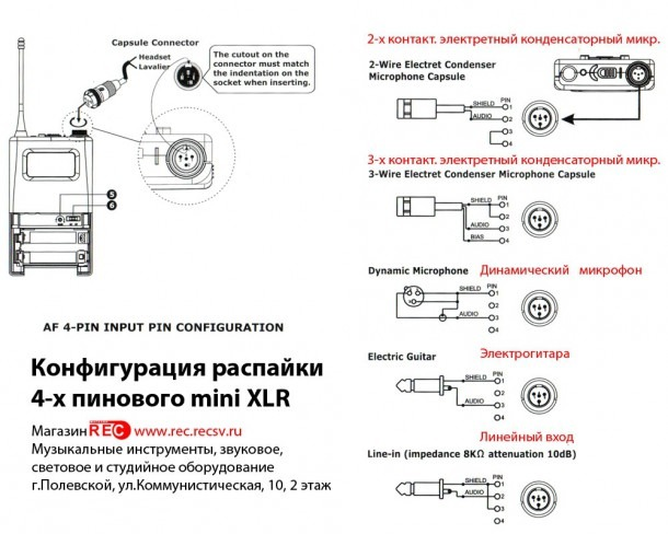 wiring diagram for xlr connector