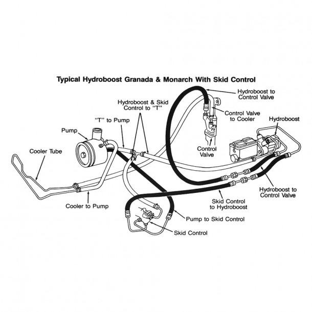 2006 F150 Power Steering Hose Diagram