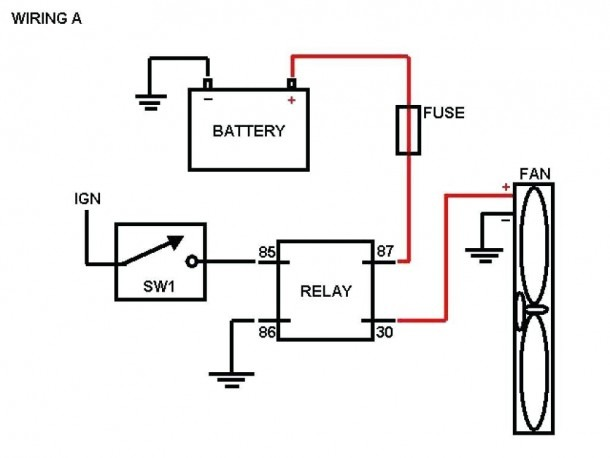 Circuit Diagram Alternating Relay Switch