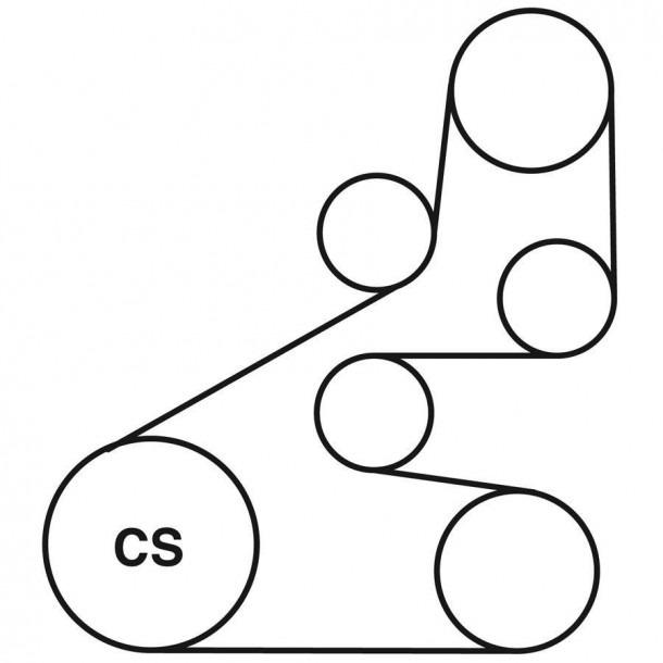 2008 Honda Civic Serpentine Belt Diagram