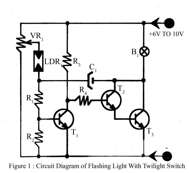 Flasher Light Circuit Diagram