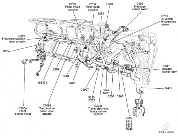 Ford 4.2 Engine Diagram