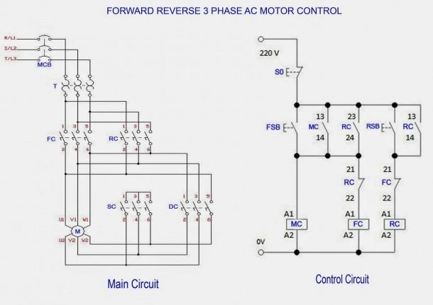 3 Phase Motor Internal Wiring Diagram