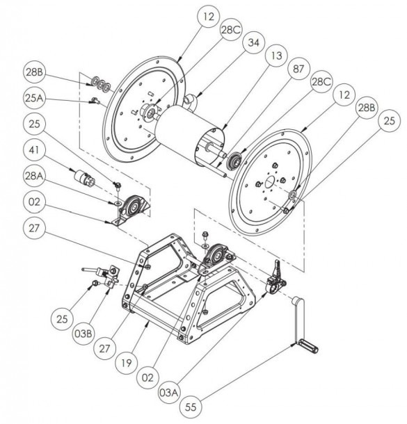 Quantum Reel Parts Diagram
