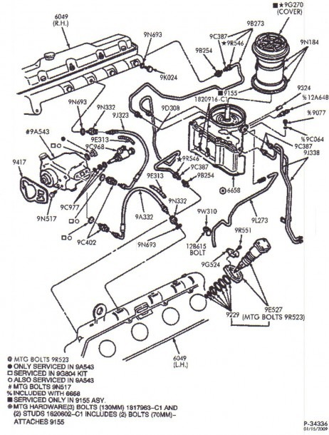 High Pressure Oil Pump 7.3 Diesel Diagram
