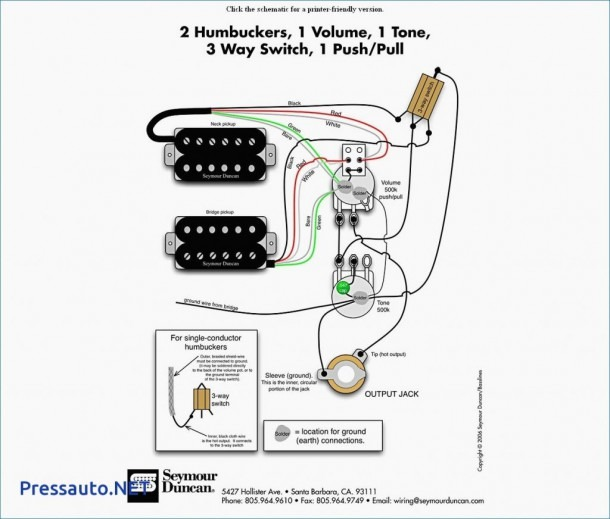 Seymour Duncan Stratocaster Wiring Diagram