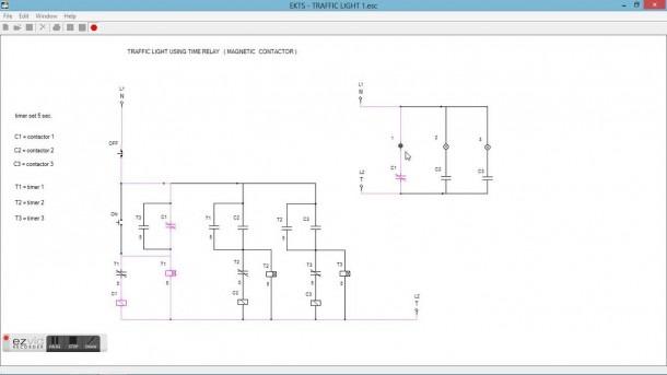 Control Of Traffic Light Ladder Logic Diagram
