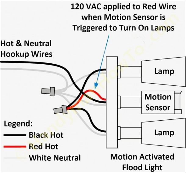 Motion Sensor Wiring Diagram