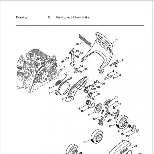 Stihl Parts Diagrams