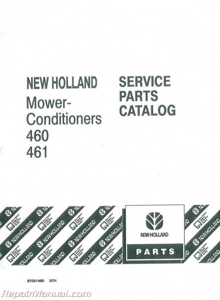 New Holland Haybine Parts Diagram