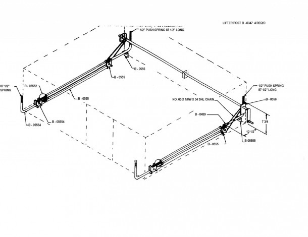 Jayco Pop Up Camper Lift System Diagram