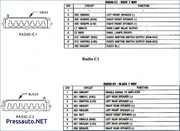 94 Jeep Cherokee Radio Wiring Diagram