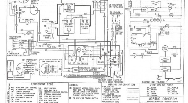 York Hvac Wiring Diagrams