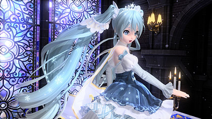 Hatsune Miku Rolling Girl Wallpaper Snow Miku 2018 Amp 2019 Modules Announced For Hatsune Miku