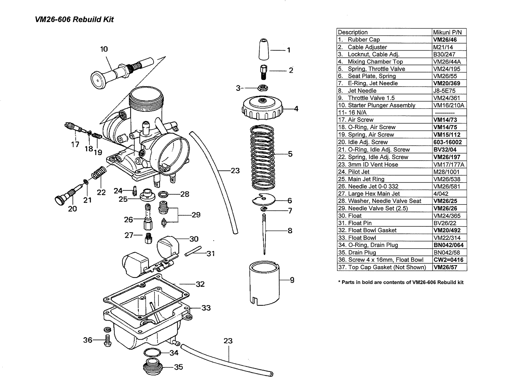 mikuni bs carburetor manual