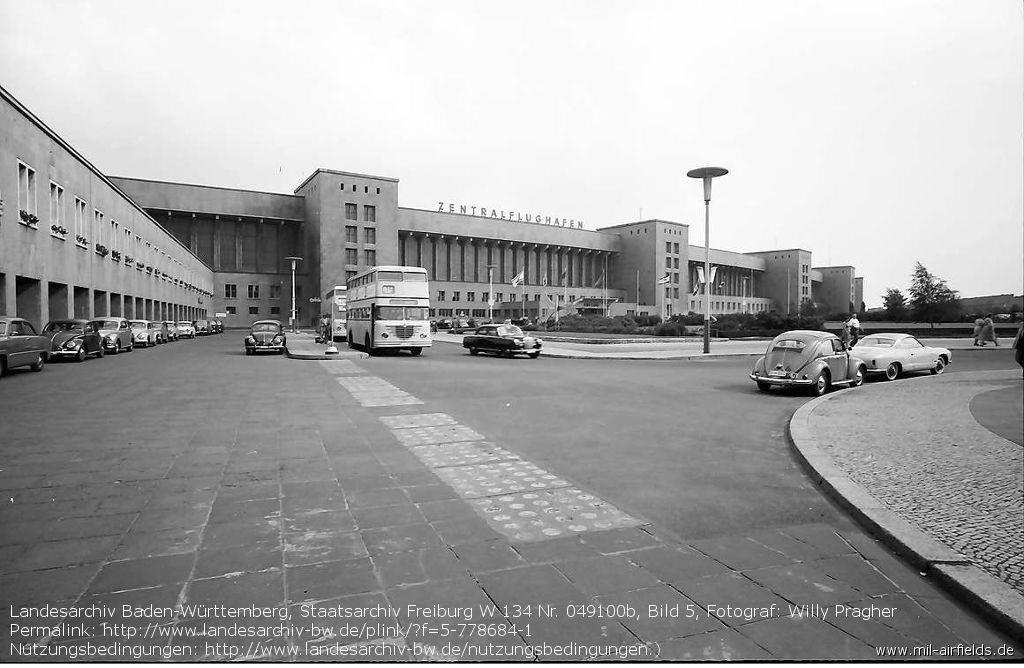 Der Flughafen Tempelhof nach dem Zweiten Weltkrieg
