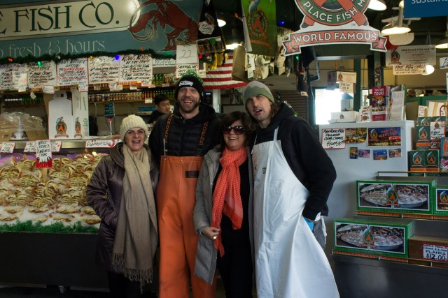 Pike Place Market em Seattle
