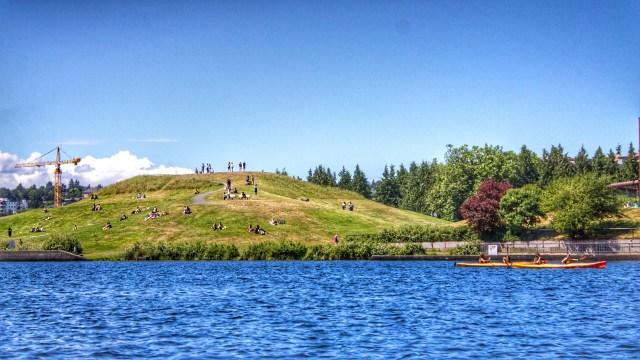 passeio de barco no Lake Union