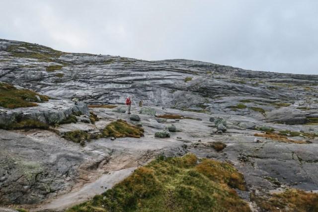 Trilhas na Noruega - Kjerag