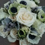 bridal-bouque-silver-brunia-roses-anemonies