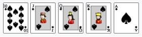 royal flush - karaliskais flešs