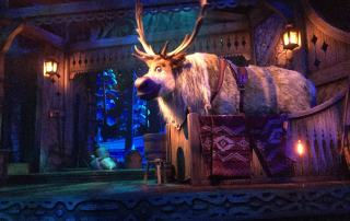 Disney Frozen Musical im Disneyland Paris